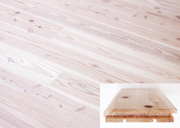 30mm厚の杉の無垢板